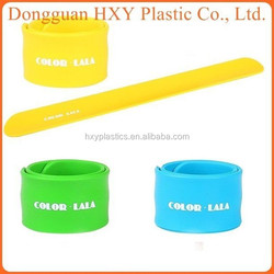 HXY custom bulk cheap silicone band,high quality bracelet,logo available silicon slap wristband