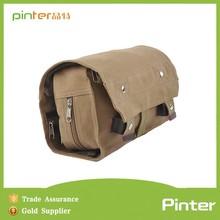 Pinter manufactory new design canvas folding travel toiletry bag men
