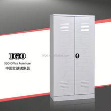 IGO-022 commercial 12 door metal locker with adjustable foot