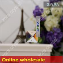 N401 envío la muestra verdadera de China mayorista plaza Crystal prismas para sale-30mm Crystal Drops N401