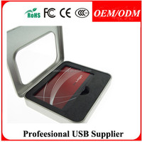 Free sample swivel card usb flash pen drive with custom logo for promotiona gifts