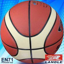 High quality 12 panles PU basketball pvc synthetic US basketball