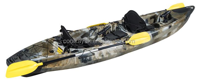 Popular cheap double fishing kayak castor for wholesale for Double fishing kayak