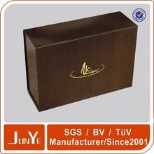 Design elegant magnet closure gift cd dvd box