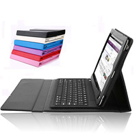 for iPad Air bluetooth keyboard with leather case