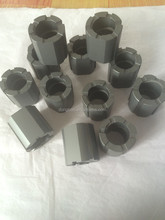 Abrasion resistance ceramic SiC/SiSiC pump shaft seals