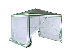 LG-HD4012 Yongkang LanGe metal and PE outdoor canopy 3*3m gazebo