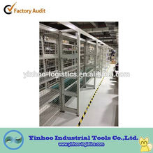 hot sale heavy duty steel plate storage vertical rack of durable