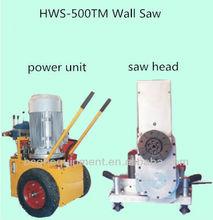 HWS-500TM hydraulic concrete cutting saw machine,concrete and stone cutting equipment,beton cutter