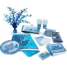 Paper Napkin Glitz Party Pack For 32 - Blue.