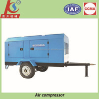 Shoukai Brand portable electric motor air compressor for drilling rig