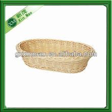 woven plastic food basket wholesale