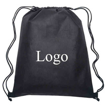 Customed Polyester Drawstring Shoe Bag With Logo