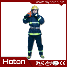 Plastic CE cerfitied good quality firefighter fire protective clothing with high quality