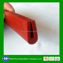 epdm/silicone u profile rubber seal strip