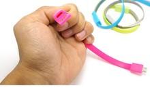 Bracelet usb cable bulk for iphone 5 printer usb cable usb cable for iphone 6