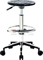 High Quality Adjustable Stool With Wheels, PU Lab Stool With Wheels, Cheap Stools With Wheels