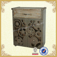 Fashion old style wooden handcarved cabinet