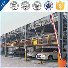 psh 4 layer lift-sliding automatic stack sedan parking garage system