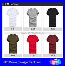 Wholesale dry fit plain t-shirts bulk buy tshirts cheap cotton t shirts