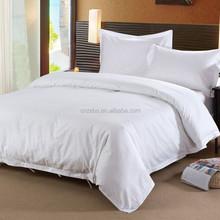 hotel textile supplies wholesale white cotton super single 5 star hotel bedding linen sheet set/bed cover/quilt/pillowcase