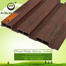 Manufacturer Mould Proof Wood Plastic Outdoor WPC Wall Covering Panel