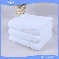 100% cotton Thin Large White shower bath hotel Towel