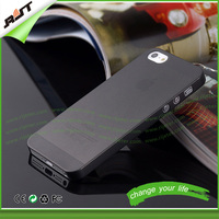 Wholesale MOQ 50pcs ultra thin cover for iphone 5s case classic black,cover case for ip5s