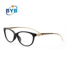 leopard head temple new model eyewear frame glasses vogue fashion optical glasses frame