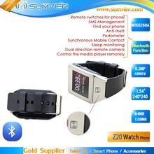 New model best wrist hot sale china watch mobile phone