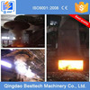 Dust extraction for induction electric furnace