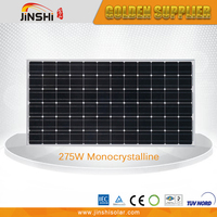 275w professional made high quality mono solar panel pv module