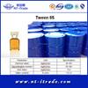 Factory supplier-Recive small order Emulsifier Tween 85 For free sample
