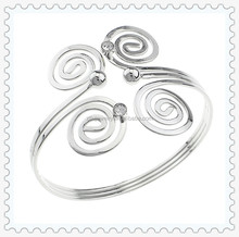 Zilu Jewelry Online Wholesale Fashion Iron Bangle Bracelet Arm Cuff for Girls