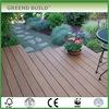 Garden outdoor wood flooring