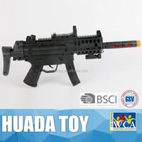 Latest plastic electric sound flashing vibrating gun/electric gun plastic toys/ electronic sound electric gun