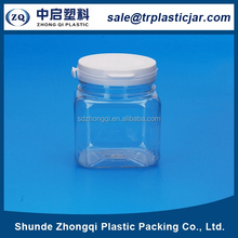popular reasonable price plastic jar packaging chewing candy