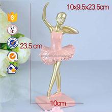 Hot selling Ballet Dancing Girl Souvenir Statue Resin Decorative