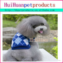 oem blue new design dog pet sweater with cap different size clothes