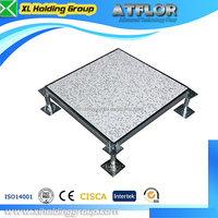 Antistatic PVC Casino raised floor tiles