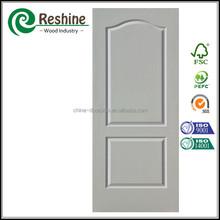 honey comb core inside White Primer Coating Molded Wooden Door