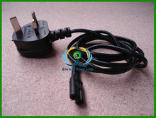 2m 6'ft Figure 8 IEC C7 to UK Mains Plug Mains Power Cable 3 Amps Lead Wire