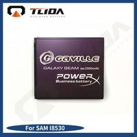 Unique GAVILLE Brand 2000mAh 3.8v gb t 18287 mobile phone battery for samsung i8530