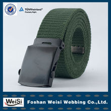 High Quality Custom PP Fabric Woven Belt With Plastic Buckle