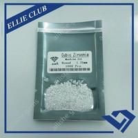 wuzhou cz stone 1.25mm normal brilliant cutting 4A cz