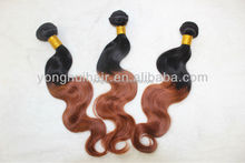 Yonghui hair new product for 2015 remy double drawn virgin indian hair