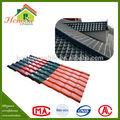 Nuevos productos 100% impermeable ASA teja sintética techo