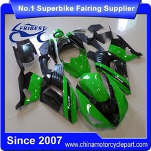 FFKKA023 Motorcycle Fairing For ZX14R ZX 14R 2006-2011 Green And Black Zx14 Fairings
