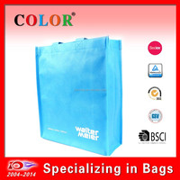 100gsm non woven fabric bag, silkscreen printing cheap shopping bags