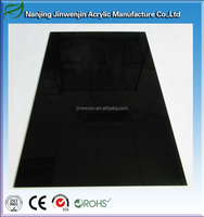 Five-star quality Free cutting decorative 1mm black acrylic sheet